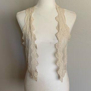 H&M lace vest